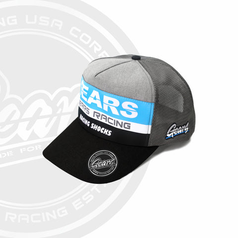2020 GEARS RACING DESIGN GRD TRUCKER HAT / SNAPBACK CURVED GRD-2020-TH01C
