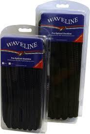 Waveline Pre-Spliced Dockline Black 10M