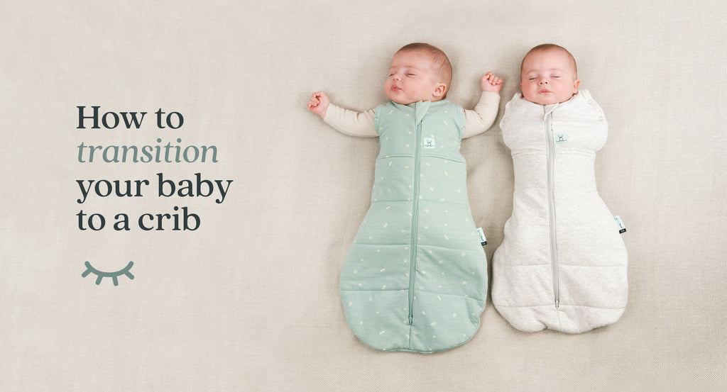 How to transition your baby to a crib