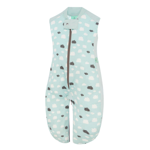 ErgoPouch Sleep Suit Bag (0.3 Tog) - Mint Cloud