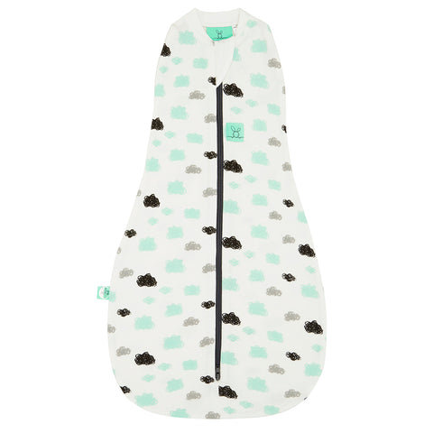 Cocoon Swaddle Bag (0.2 Tog) - Clouds