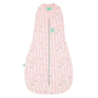 Cocoon Swaddle Bag (1.0 Tog) - Spring Leaves