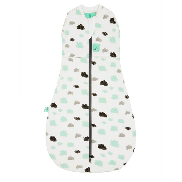 Cocoon Swaddle + Sleep Bag (2.5 Tog) - Clouds
