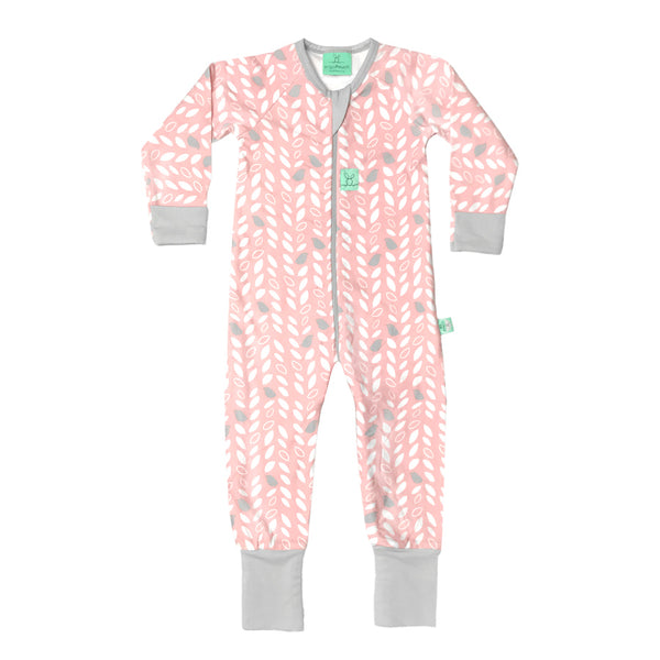 Long Sleeve Layers Sleep Wear (1.0 Tog) - Spring Leaves