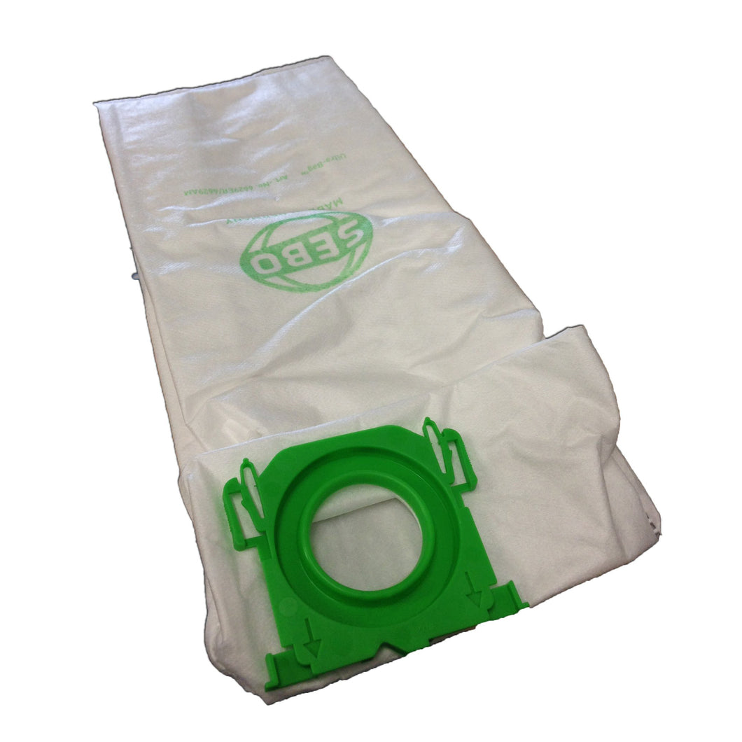 SEBO VACUUM CLEANER BAGS 8 Pack 18020