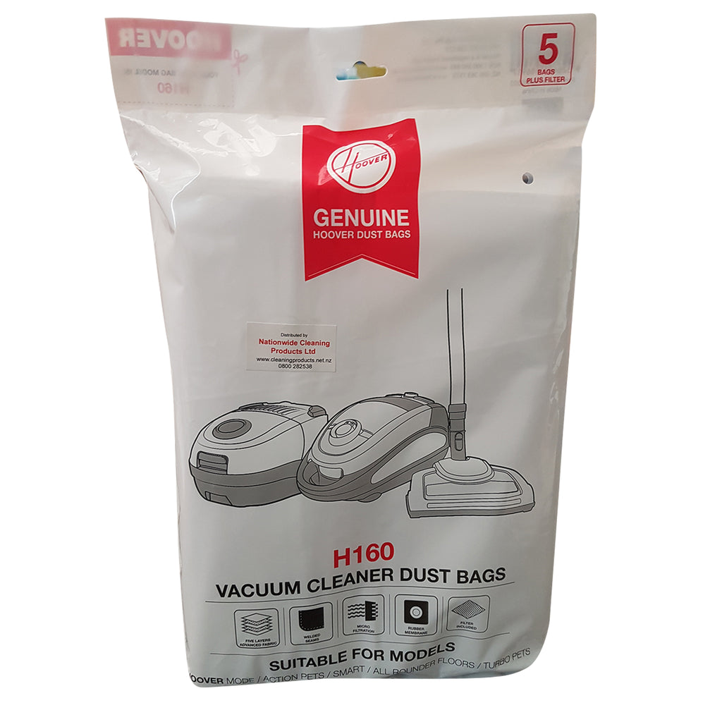 Hoover Vacuum Dust Bags 5 pack