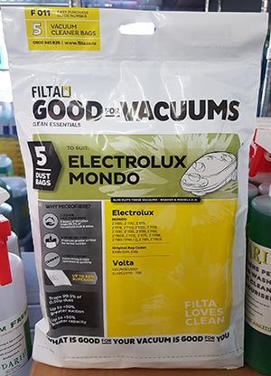 Nationwide Cleaning Products | Electrolux Mondo/Volta Vacuum Bags 51016