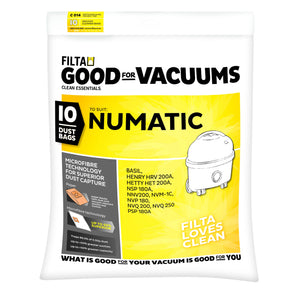 Numatic Vacuum Dust Bags HETTY, HENRY, BASIL, JAMES 60092