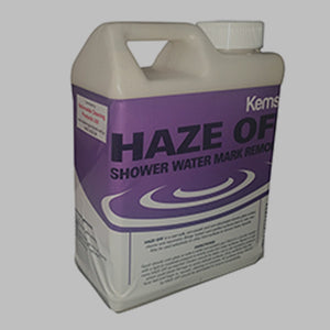 Nationwide Cleaning Products | HAZE OFF Shower Glass Cleaner & Rejuvenator (1 Litre)