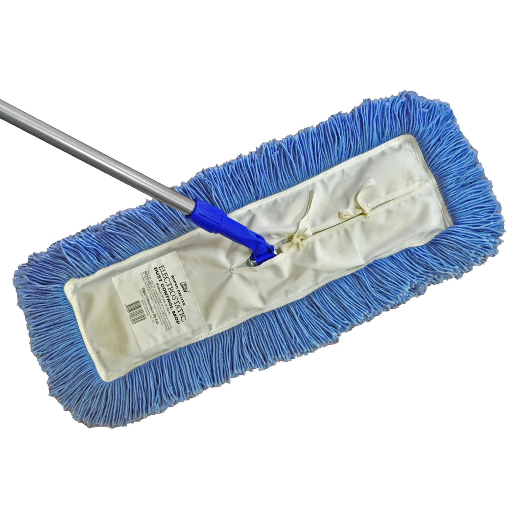 Dust Control Mop 300mm c/w Handle