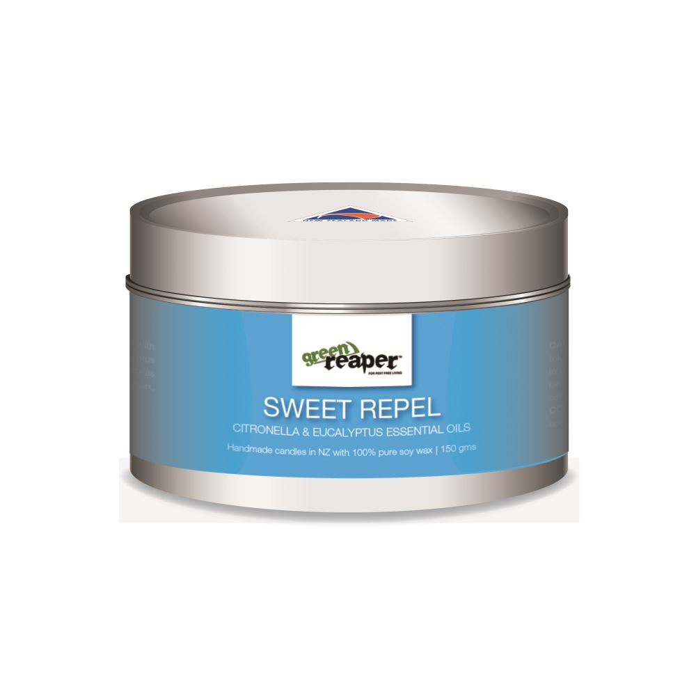 Nationwide Cleaning Products | Green Reaper Sweet Repel - Soy Wax Candle (Citronella & Eucalyptus)