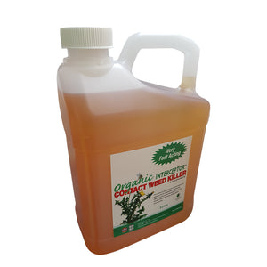 WEEDKILLER CERTIFIED ORGANIC INTERCEPTOR 2 litre NEW DILUTION RATE