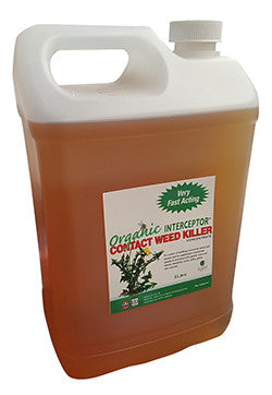 Nationwide Cleaning Products | WeedKiller Certified Organic Interceptor 5 Litre