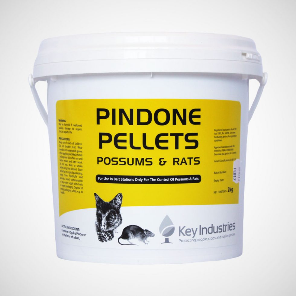 Pindone Possums & Rat Pellets 2kg