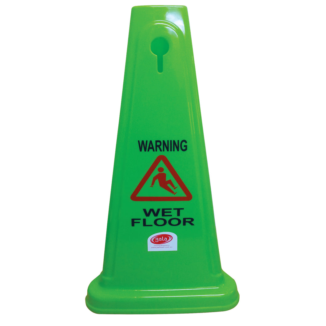 Safety Cone - Wet Floor 680mm BASACO46G
