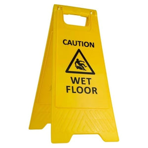 Safety Sign - Wet Floor BASAC11Y
