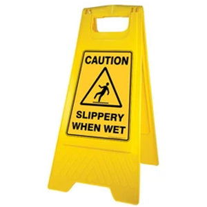 Safety Sign - Slippery When Wet BASAC15Y