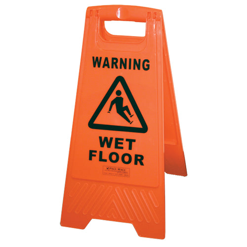 Safety Sign - Wet Floor BASAC11OR