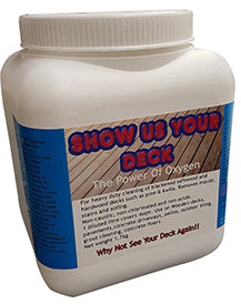 Nationwide Cleaning Products | Show Us Your Deck - Deck Cleaner 1.7kg