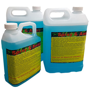 Nationwide Cleaning Products | Spray & Away Moss&Mould Remover 2 x 5lts with BONUS 2 Litre