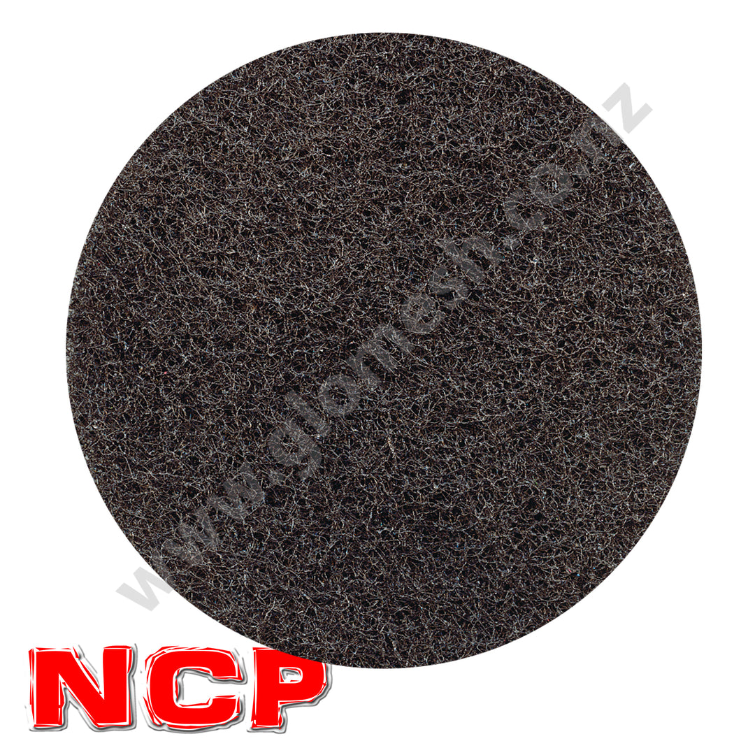 Floor Pad Glomesh 400mm Stripping Black