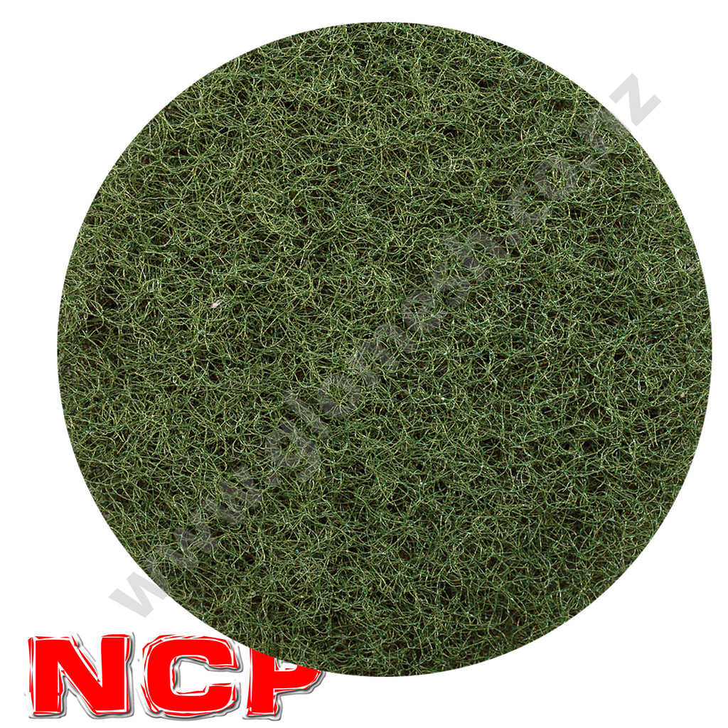 Floor Pad Glomesh 400mm Scrubbing Green