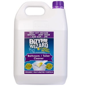 ENZYME WIZARD BATHROOM/TOILET CLEANER 5 Litre NEW NEW
