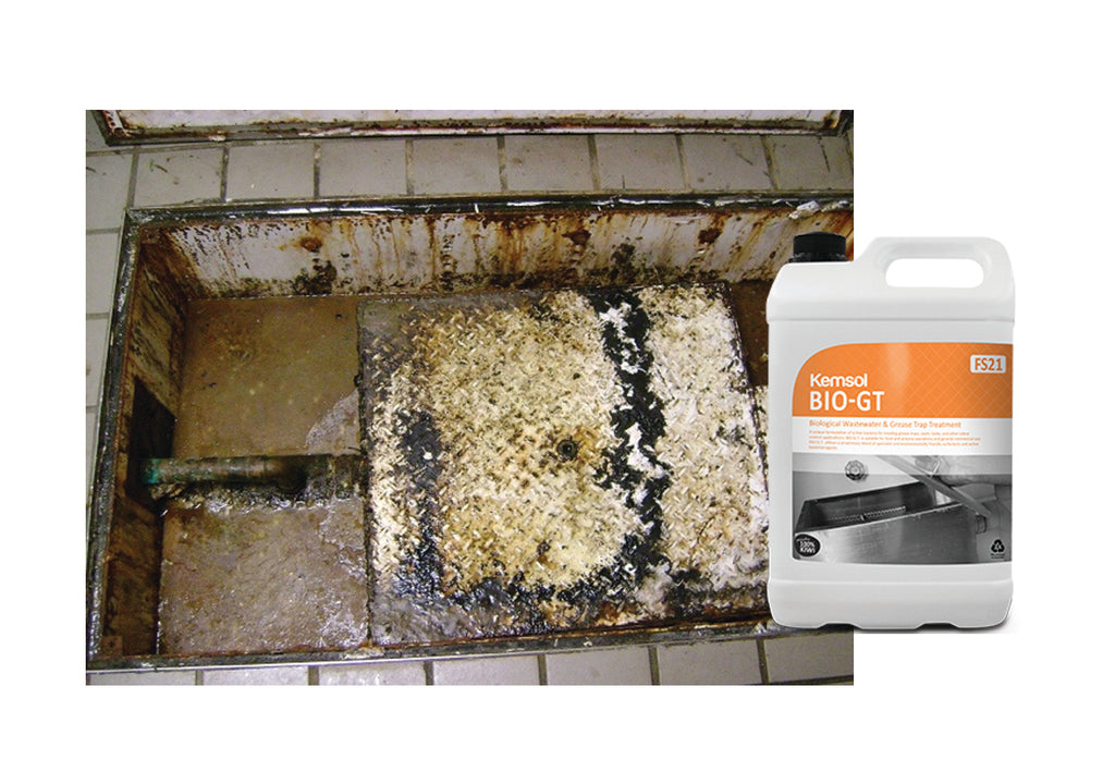 Nationwide Cleaning Products | Grease Trap Treatment Bio-GT (5 Litre)