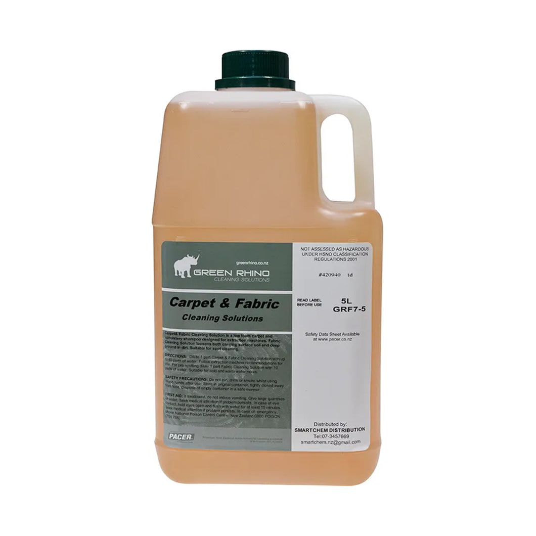 Carpet & Fabric Detergent Used by Machine 5 Litre GRF7-5