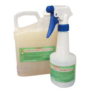 Cigarette / Cigar Odour Deodouriser - Stink Control 2 Litre and 500ml Empty Bottle