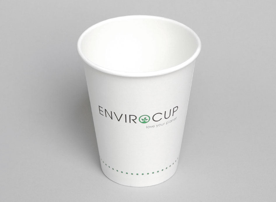 Nationwide Cleaning Products | Single Walled Biodegradable Coffee Cups (PLA)