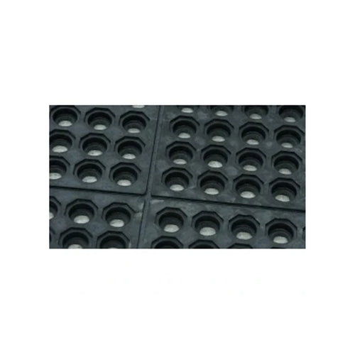 Floor Cushion Foot Drainage Mat 900 x 900mm Black MC3636BK