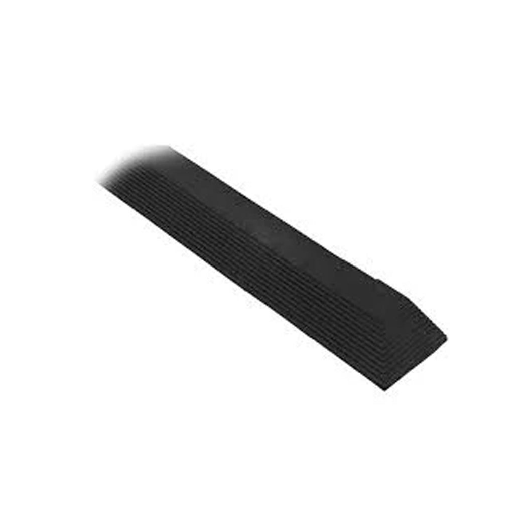 Cushion Foot Mat Ramp Edging Female 900mm Black MCERMPBKF