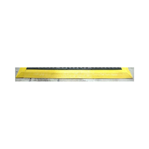 Cushion Foot Mat Ramp Edging Female 900mm Yellow MCERMPYWF