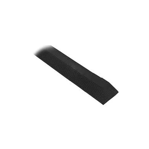 Cushion Foot Mat Ramp Edging Male 900mm Black MCERMPBKM