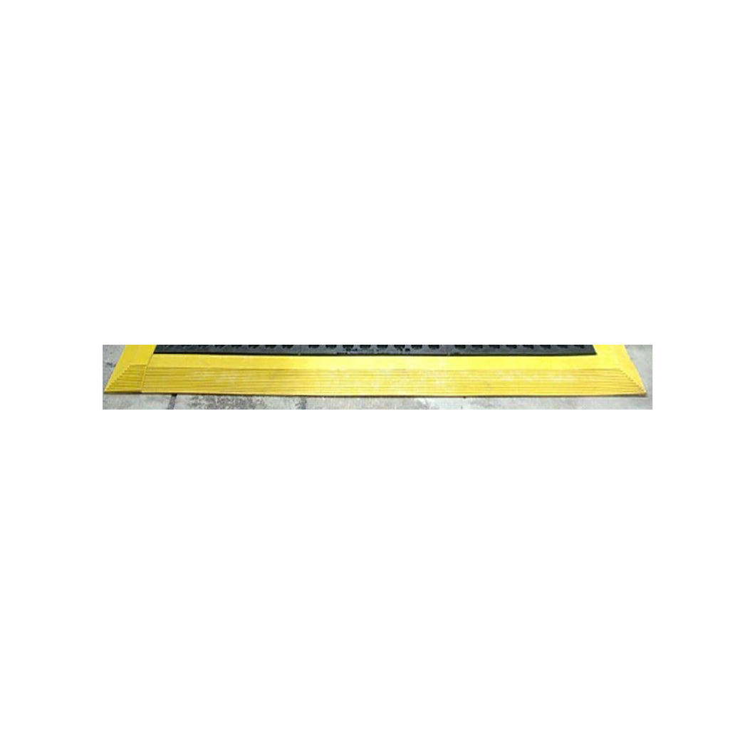 Cushion Foot Mat Ramp Edging Male 900mm Yellow MCERMPYWM