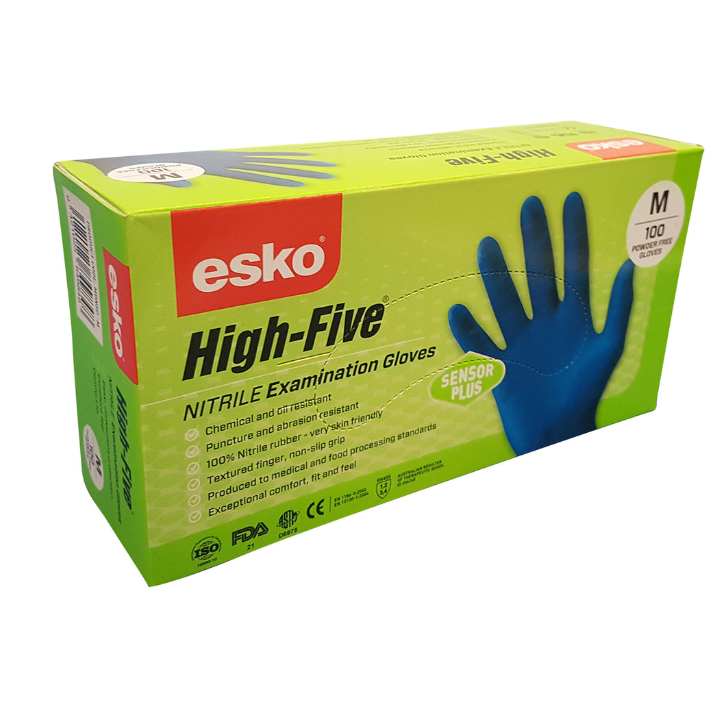 Disposable Gloves Sensor Plus Nitrile Powder Free - Select Yr Size - Limited Stk