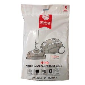 HOOVER ALLERGY VACUUM Dust BAGS 5PK  32420366