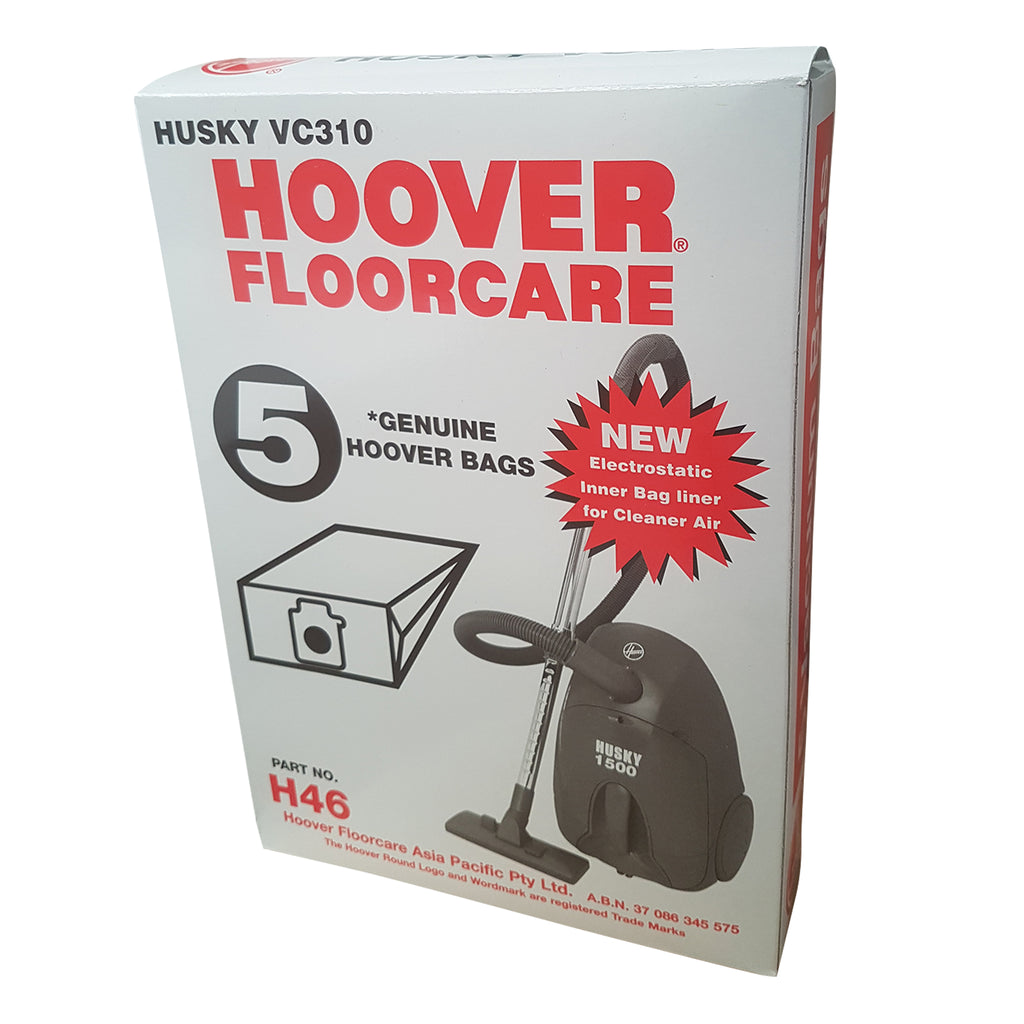 Hoover Vacuum Dust Bags 5pack H64