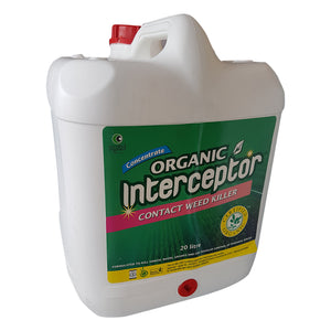 WeedKiller Certified Organic Interceptor  15 Litre NEW Dilution Rate