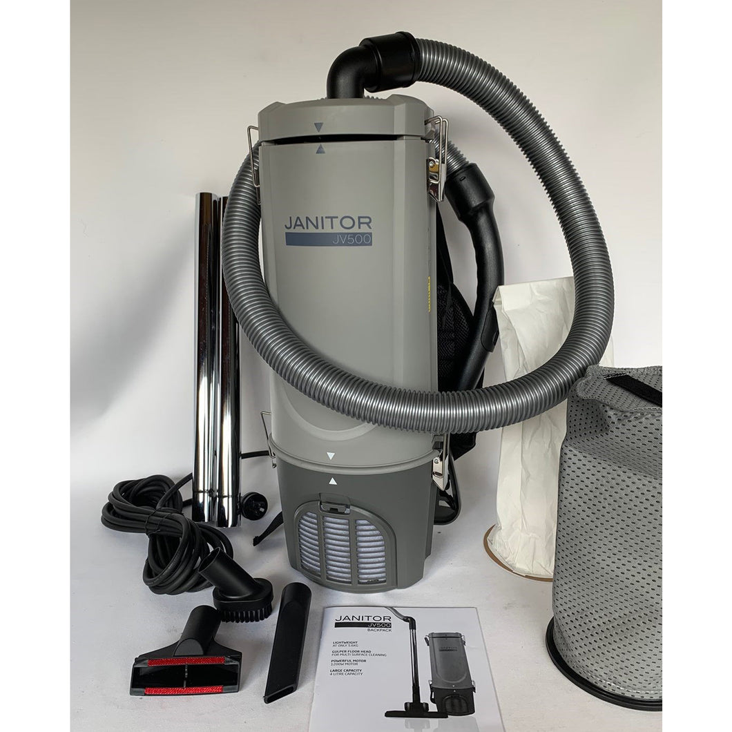 Janitor JV500 Backpack Vacuum Cleaner
