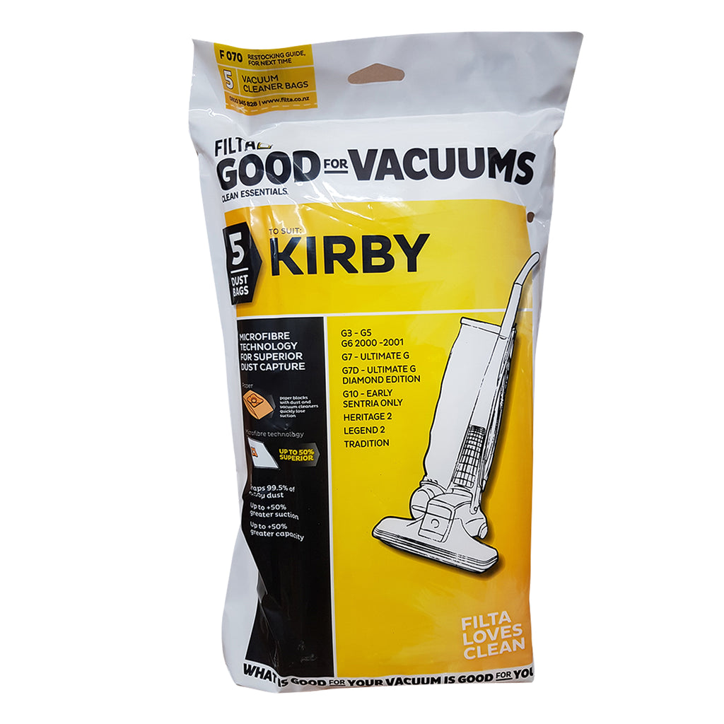 KIRBY Vacuum Cleaner  Dust Bags 5 Pack 20100