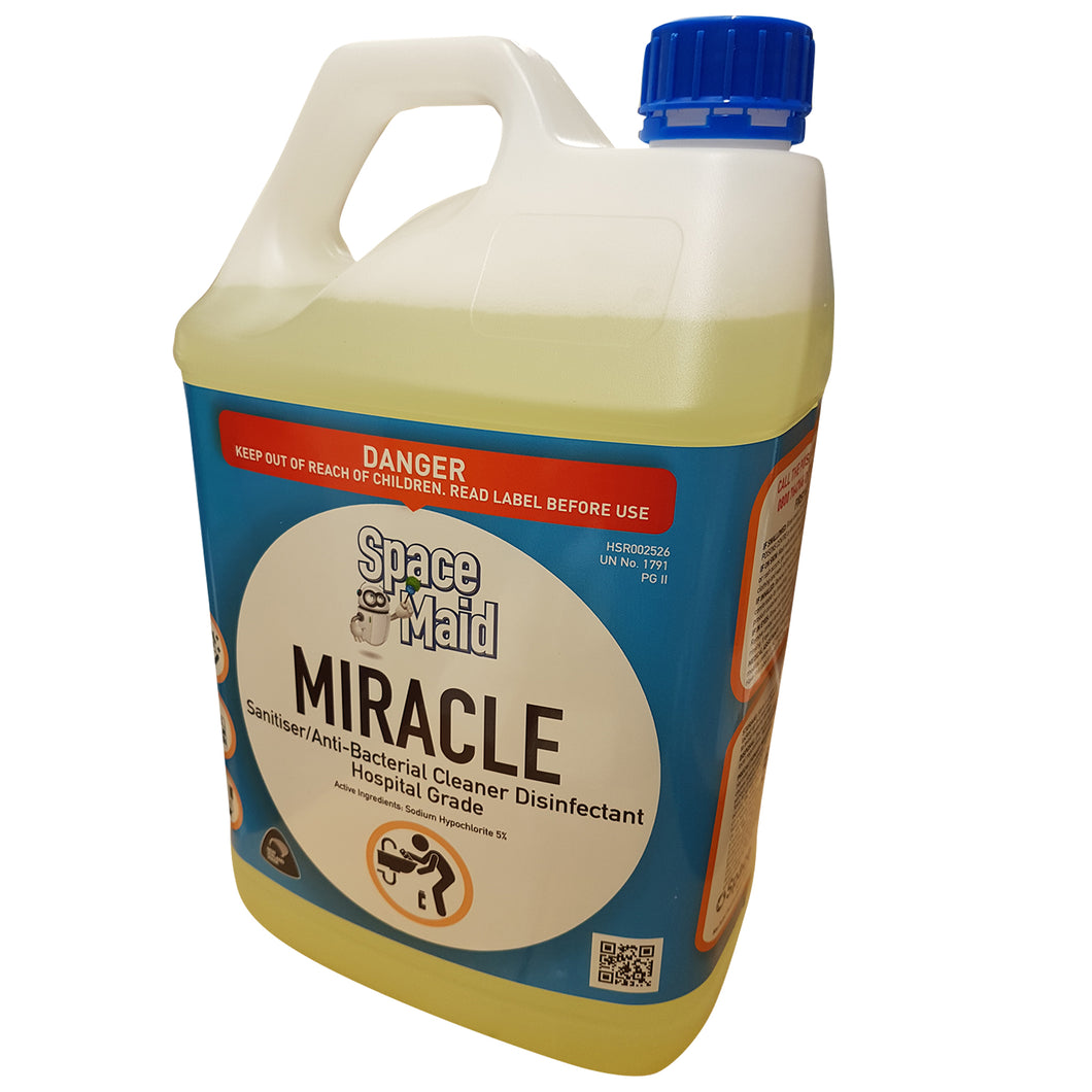 Miracle Disinfectant - Sanitiser- Hospital Grade 5 Litre