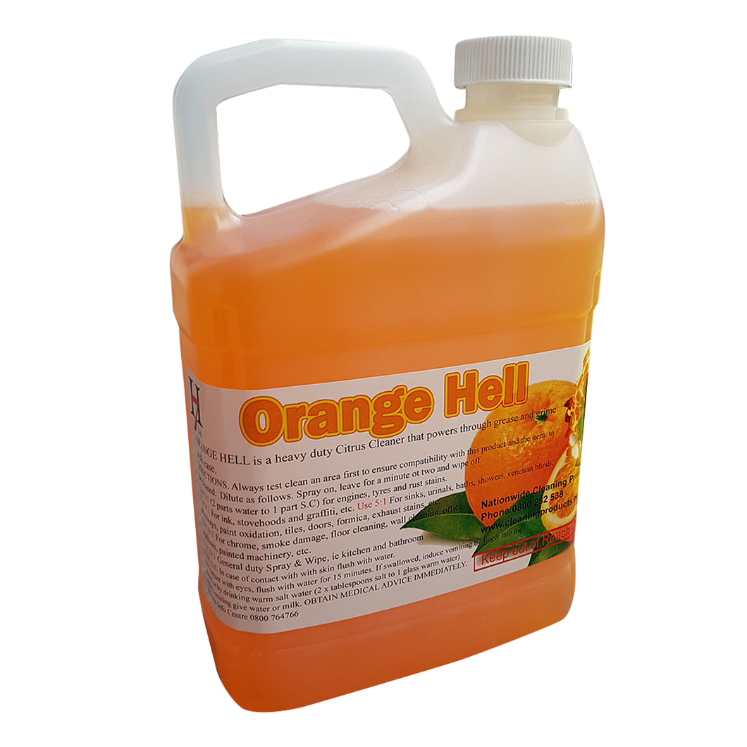Orange Hell 2 Litre SUPER Concentrate Cleaner