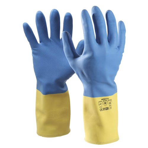 Chemical Resistant Heveaprene Gloves NEOYBL Choose A Size