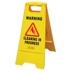 Safety Sign - Cleaning In Progress BASAC12Y