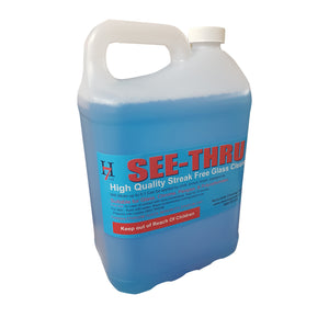Glass Cleaner See Thru 5 Litre
