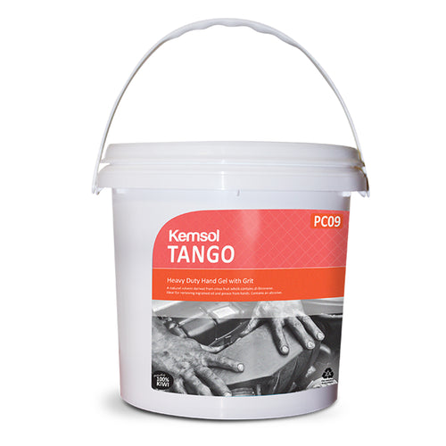 Tango Hand Cleaner Gel With Grit 4.5kg