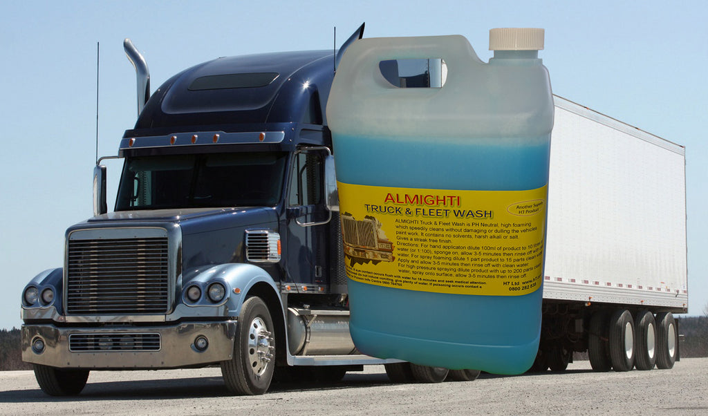 Nationwide Cleaning Products | Truck & Fleet Wash Almighti (5 Litre)