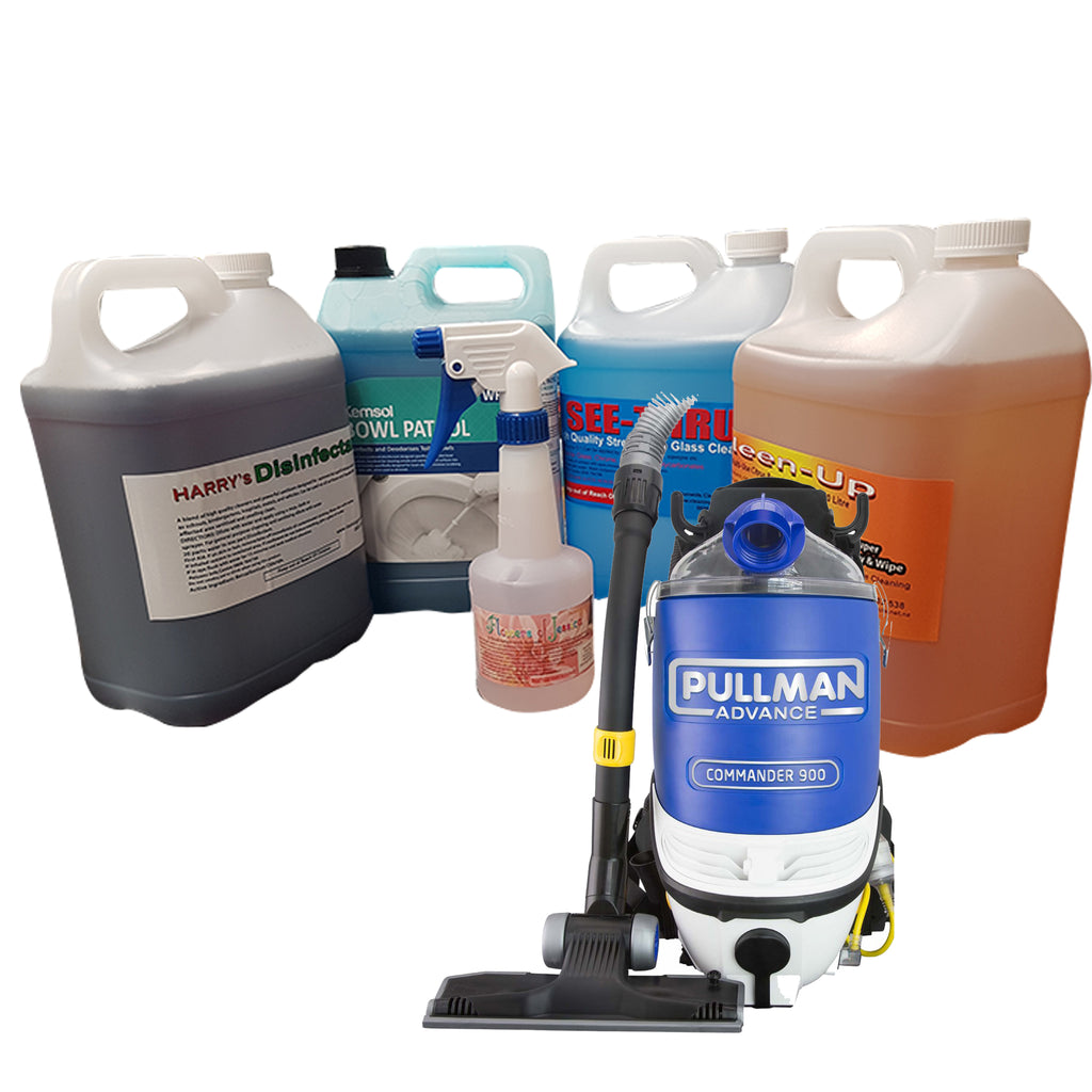 Ultimate Cleaning Kit in 5Litres  c/w Pullman Commercial Vacuum Cleaner